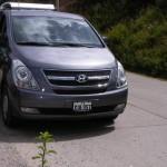 Esta es la Van que alquilamos
