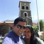 en la plaza de Callahuanca